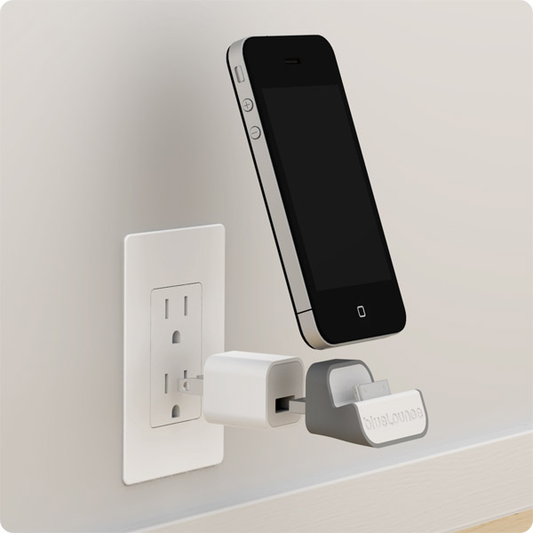 Minidock Wall Mounted Iphone Charger