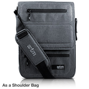 STM Shuttle Laptop Backpack and Shoulder Bag