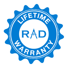 RadTech Lifetime Warranty