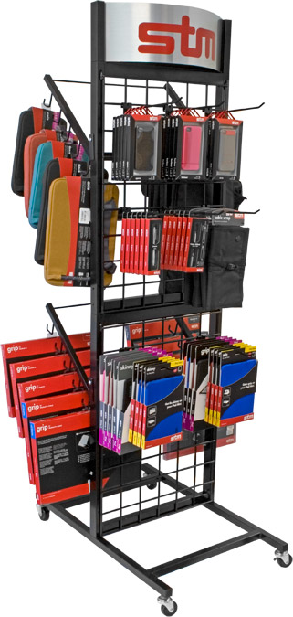 STM Full Merchandise Display Rack - Full
