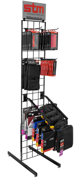 STM Narrow Merchandise Display Rack - Narrow