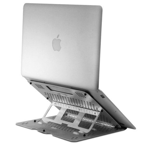 OmniStand: Aluminum elevating laptop stand