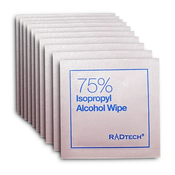Alcohol Wipes: 10 Pack