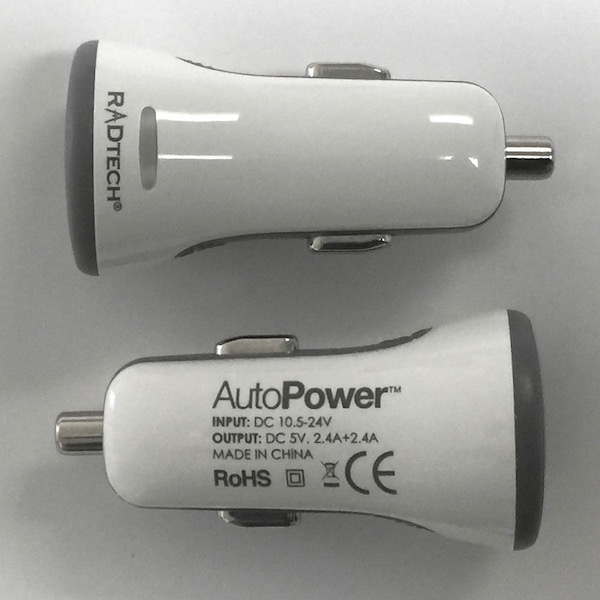 AutoPower: Works in all vehicles - fits lighter and power ports