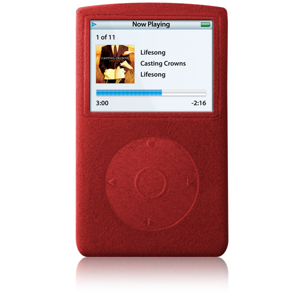 RadSleevz for iPod 5G: Red