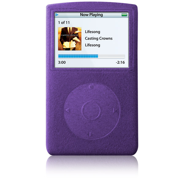 RadSleevz for iPod 5G: Ultra Violet