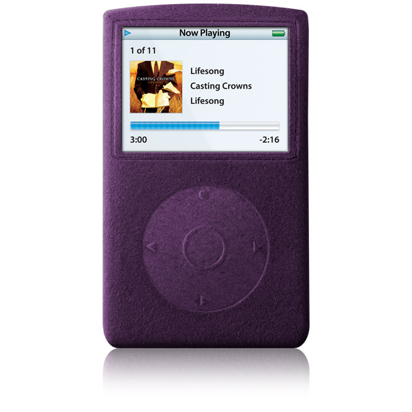 RadSleevz for iPod 5G: Grape
