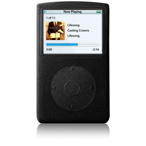 RadSleevz for iPod 5G: Black
