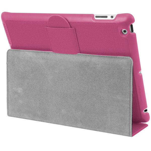STM Skinny for iPad: Viewing stand detail (Pink)