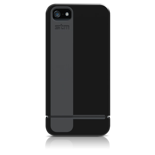 Harbour for iPhone 5/5S: Back (Black + Gray)
