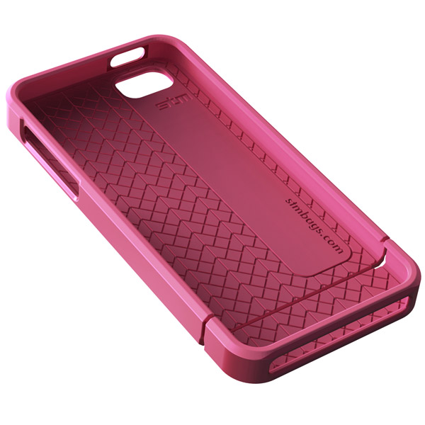 Harbour for iPhone 5/5S: Inside (Pink + Pink)