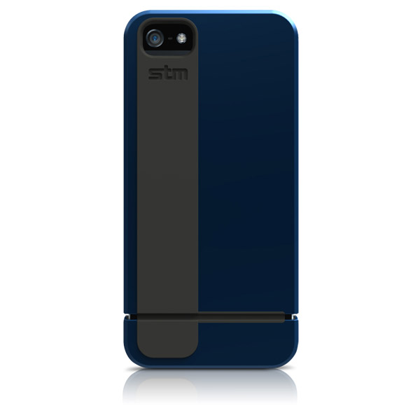 Harbour for iPhone 5/5S: Back (Blue + Gray)