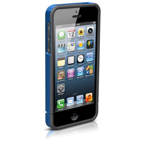 Harbour for iPhone 5/5S: Front (Blue + Gray)