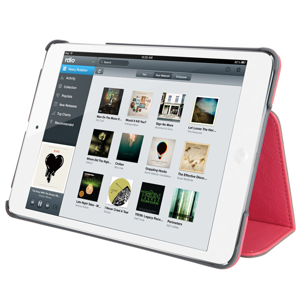 STM Marquee for iPad mini: Viewing angle (Pink)