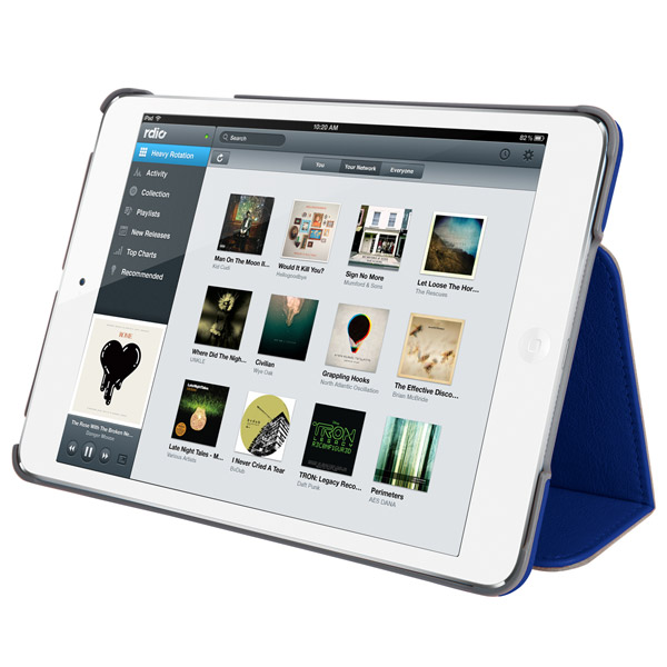 STM Marquee for iPad mini: Viewing angle (Blue)