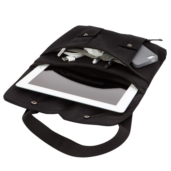 STM Cache: Transporting iPad and more (Black)