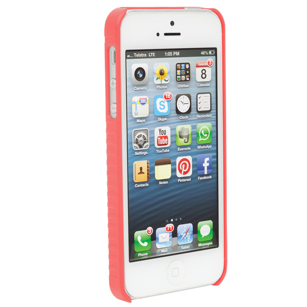 STM Grip: Case for iPhone SE/5/5S (Coral)