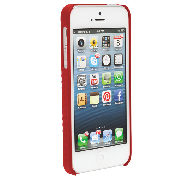STM Grip: Case for iPhone SE/5/5S (Red)