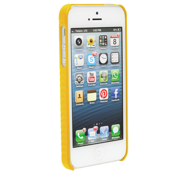 STM Grip: Case for iPhone SE/5/5S (Yellow)