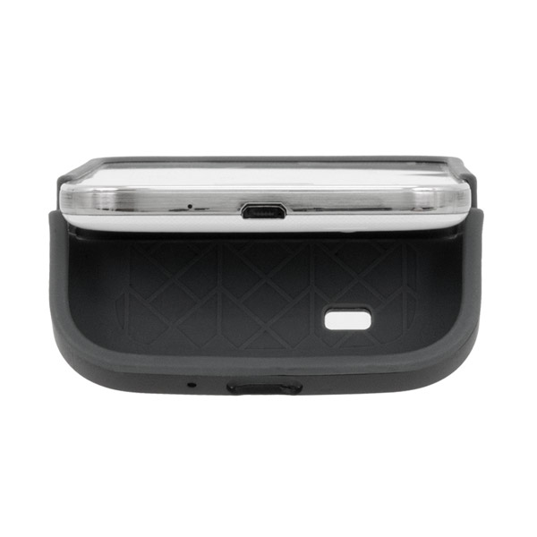 Harbour 2 for Galaxy S4: Dock access (Black + Dark Gray)