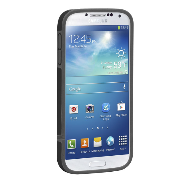 Harbour 2 for Galaxy S4: Front (Black + Dark Gray)