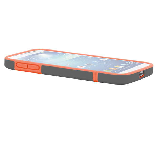 Harbour 2 for Galaxy S4: Side (Charcoal + Orange)