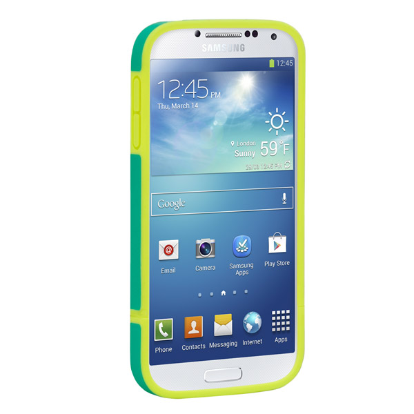 Harbour 2 for Galaxy S4: Front (Emerald + Yellow)