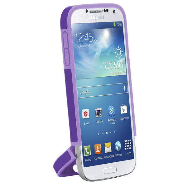 Harbour 2 for Galaxy S4: Hinged bottom (Purple + Light Purple)