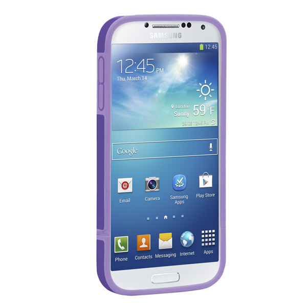Harbour 2 for Galaxy S4: Front (Purple + Light Purple)