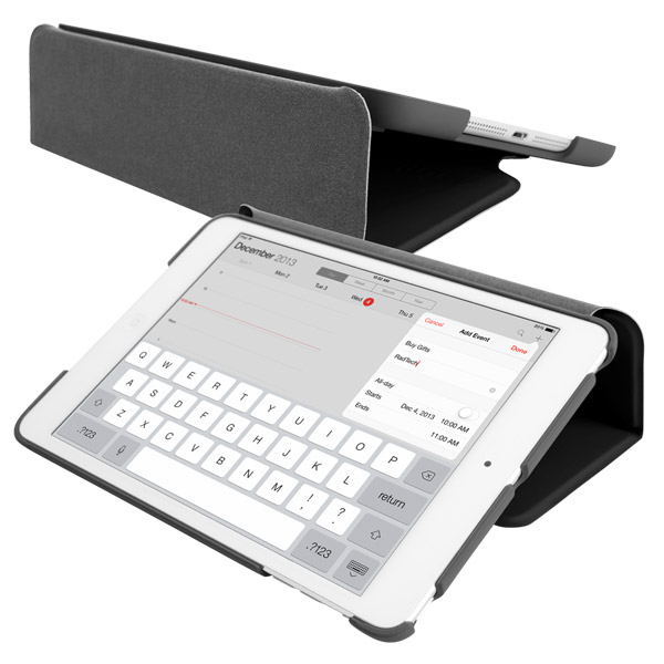 STM Studio for iPad Air: Typing angle (Black)