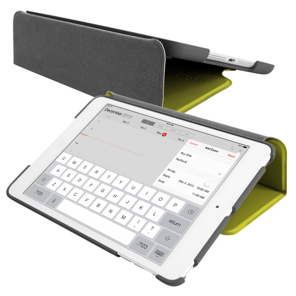STM Studio for iPad Air: Typing angle (Lime)