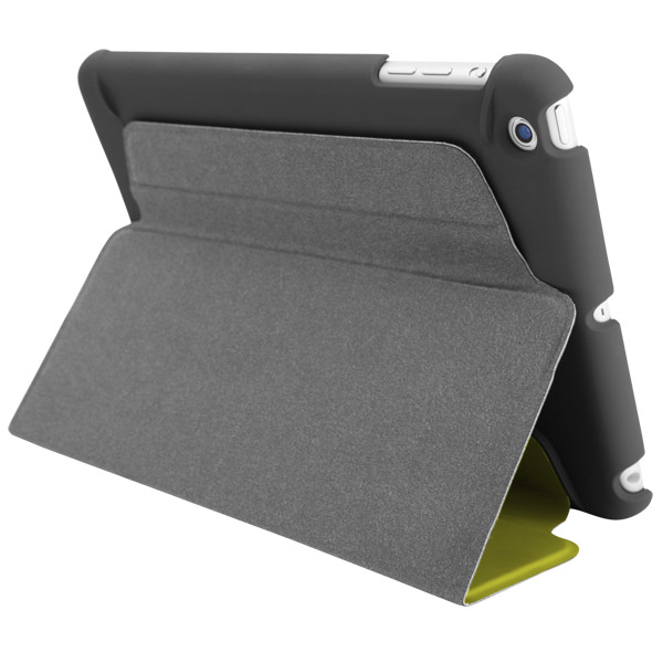 STM Studio for iPad Air: Viewing stand detail (Lime)