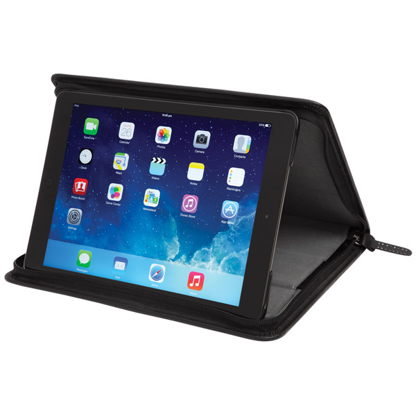 STM Leather Folio: Viewing Angle (Black)