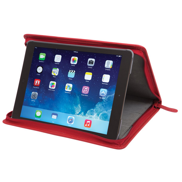 STM Leather Folio: Viewing Angle (Red)