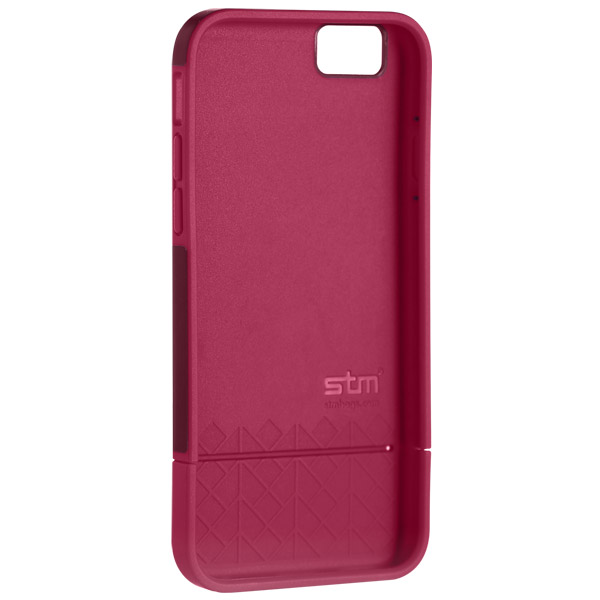 Harbour for iPhone 6: Front case detail (Red)