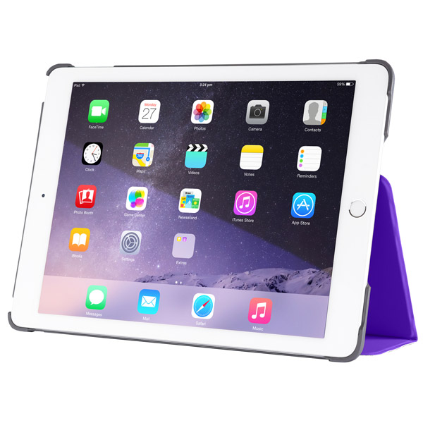 Studio for iPad Air 2: Front Viewing Angle (Purple)