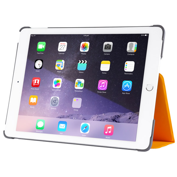 Studio for iPad Air 2: Front Viewing Angle (Light Orange)