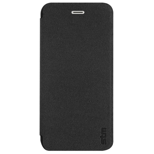 Flip for iPhone 6: Front cover closed (Black)