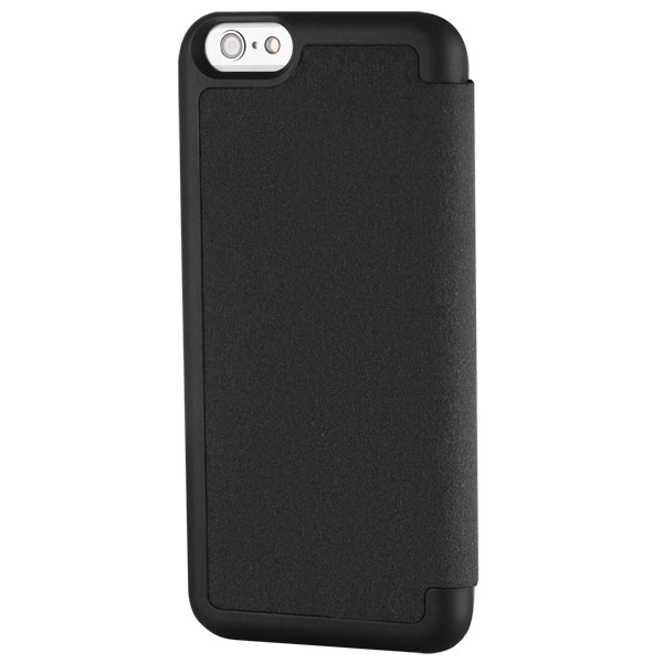 Flip for iPhone 6: Back angle (Black)