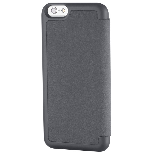Flip for iPhone 6: Back angle (Charcoal)