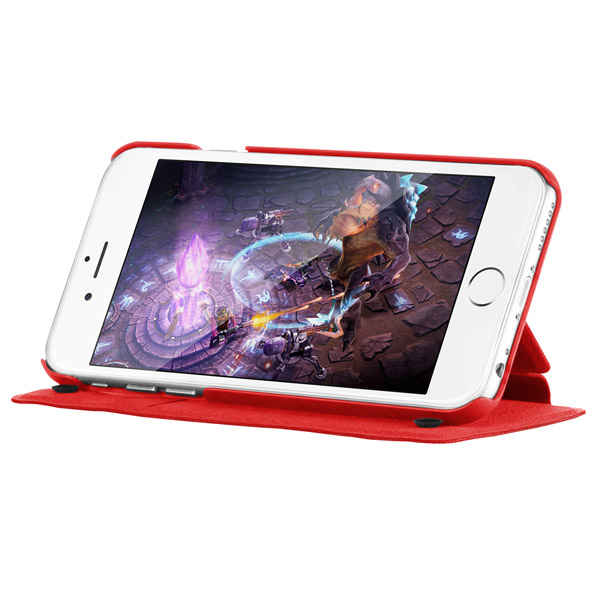 Flip for iPhone 6: Viewing stand (Red)