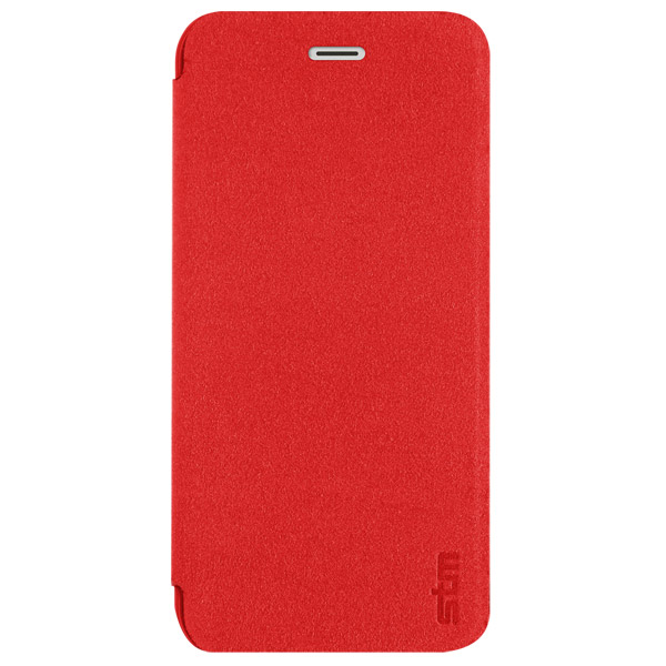 Flip for iPhone 6: Front cover closed (Red)