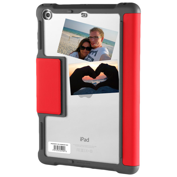 STM Dux: Clear back for personalization (Red)