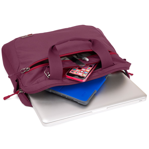 STM Swift: Transports laptops, tablets and more (Dark Red)