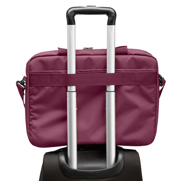 STM Swift: Attaches to rolling suitcases (Dark Red)