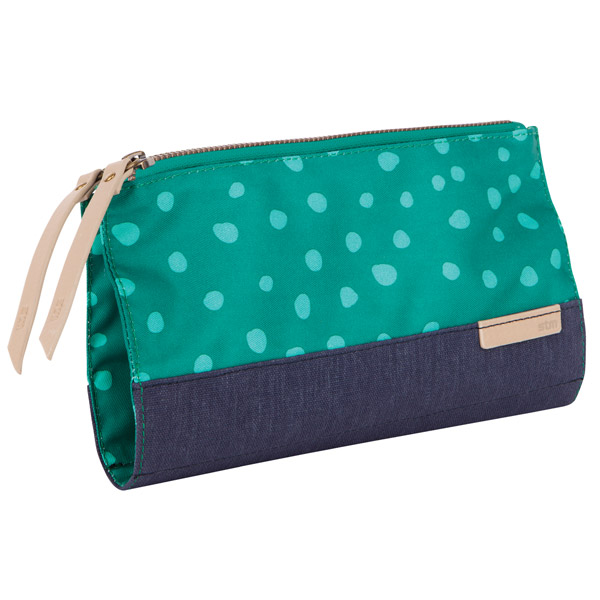 STM Grace Clutch: Angle (Teal)