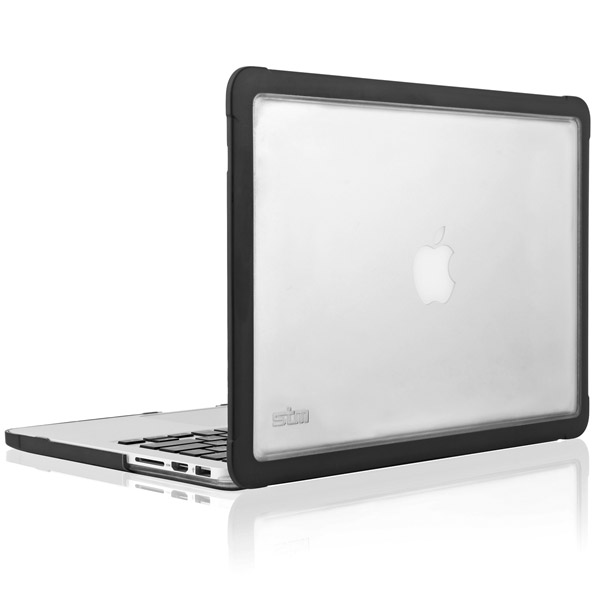 MacBook Pro Retina: Fitted-case with clear back