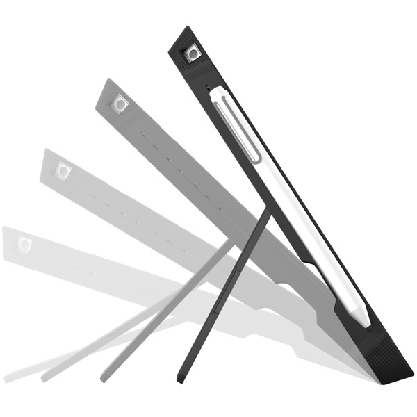 Dux for Surface Pro 4: Left side with magnetic stylus holder