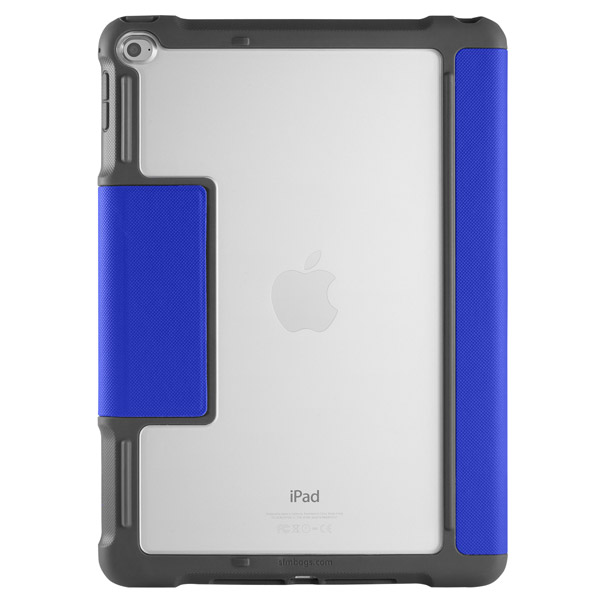 STM Dux: Clear back for tagging/personalization (Blue)