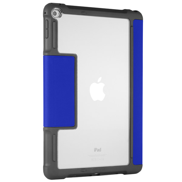 STM Dux: Case with stand and clear back (Blue)